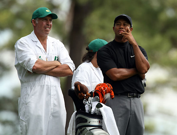 "Who is the best caddie                             on Tour? (Can't choose                             your own.)                             Steve Williams.                             (Tiger Woods): 52%                             Jim MacKay.                             (Phil Mickelson): 15%                             Others receiving                             multiple votes:                             Damon Green (Zach                             Johnson), Eric Larson                             (Marc Calcavecchia),                             Alistair Matheson                             (Geoff Ogilvy), Tony                             Navarro (Adam Scott),                             Fanny Sunesson (Henrik                             Stenson), John Wood                             (Hunter Mahan), ""anyone                             who puts up with Vijay""                             (currently Chad Reynolds)"