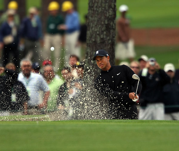 Will Tiger win a Grand Slam                             before his career is over?                             Yes: 52%                             No: 48%
