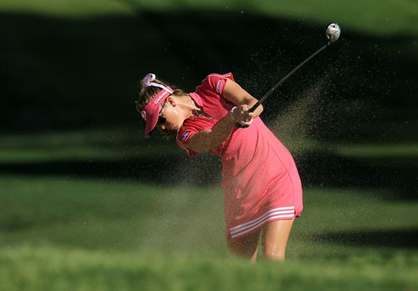 Paula Creamer shot her best round of the week, a 2-under 70.