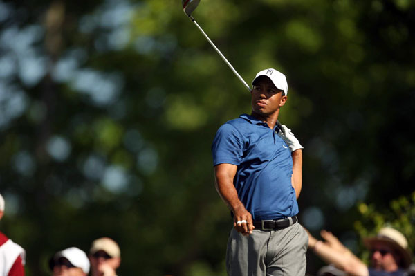 Woods's 79 on Friday was his worst round as a pro in a non-major tournament.