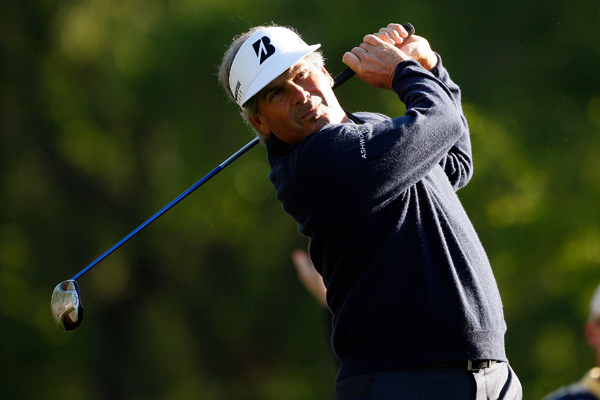 Presidents Cup captain Fred Couples shot a 4-under 68.