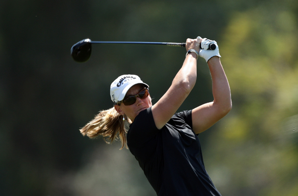 Third Round of the Kraft Nabisco Championship                           Kristy McPherson made three straight birdies on the back nine to finish with a one-shot lead.