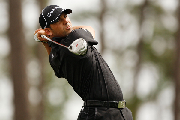 Sergio Garcia finished in last place after an 81 on Sunday.