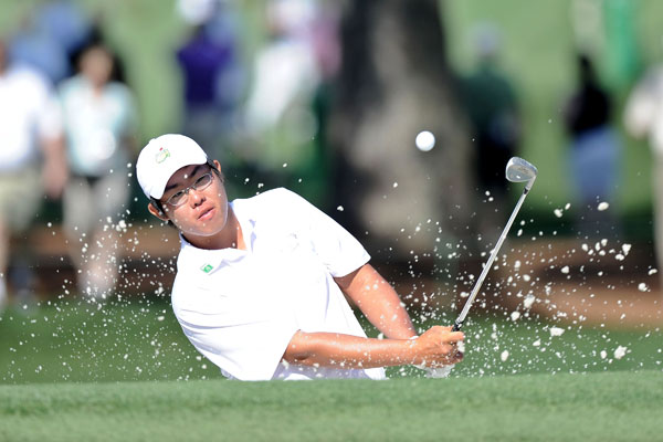 is paired with defending champion Angel Cabrera and Jim Furyk on Thursday.