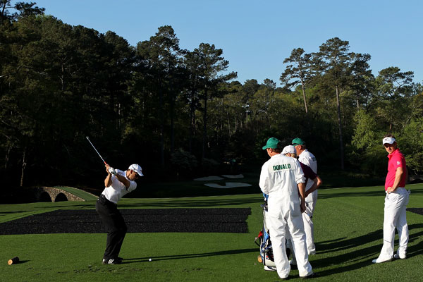 took aim at the famous par-3 12th at Augusta National.