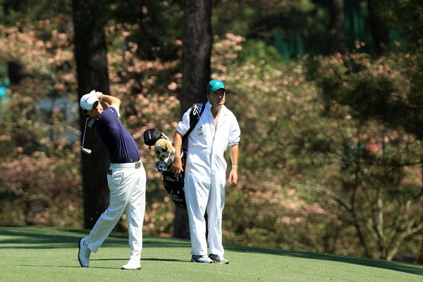 tied for 20th last year in his first start at Augusta.