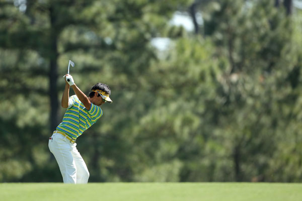 missed the cut last year in his first Masters appearance.