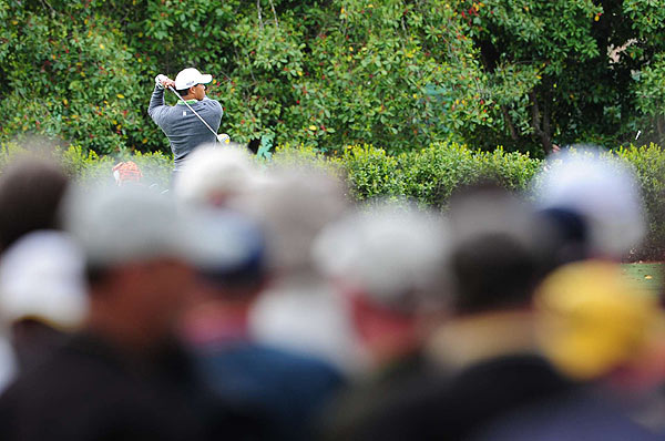 Woods won in his last outing at the Arnold Palmer Invitational at Bay Hill.