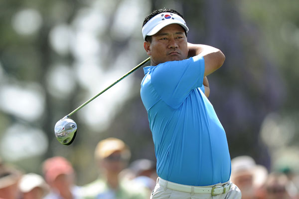 Choi's best finish at the Masters was third in 2004.