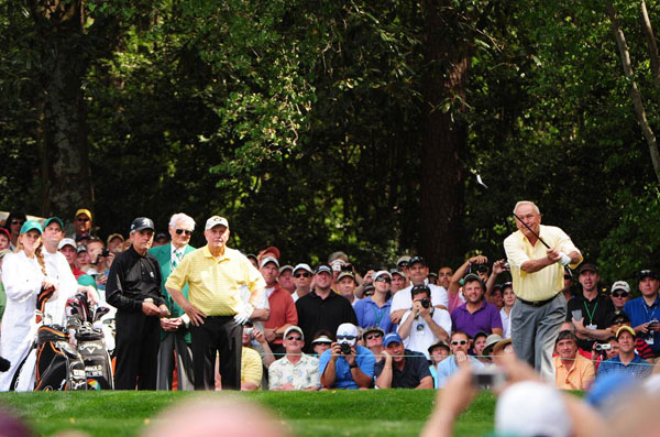 Palmer, Nicklaus and Player won a combined 13 green jackets.