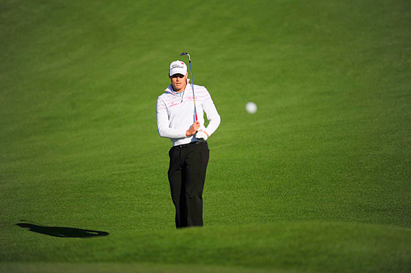 Nick Watney made four birdies and four bogeys in the first round.