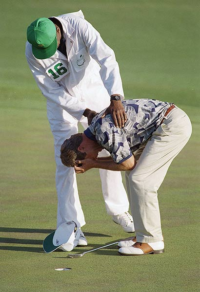 "ACRENSHAW ""Tears,"" a wise man wrote, ""are the safety valve of the heart when too much pressure is laid on it."" That — and the fact that his coach and mentor, Harvey Penick, had died the week before — explains why Ben Crenshaw wept upon winning the 1995 Masters."