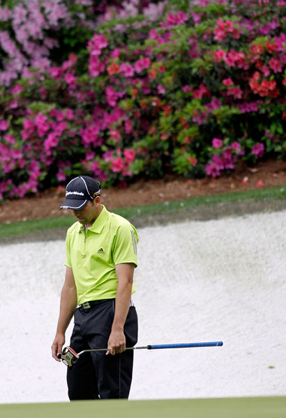 "CRITIC                           Sergio Garcia                           2009, after shooting a Sunday 74 on a damp Augusta layout                                                      CRITIQUE                           ""I don't like [the course], to tell you the truth. I don't think it is fair. Even when it's dry you still get mud balls in the middle of the fairway. It's too much of a guessing game.""                                                      BOTTOM LINE                           Garcia, who finished T38, apologized for his remarks two days later. The statement of apology, allegedly from Sergio, used the word ""iconic"" to describe the course, which we love, but this was not the Spaniard at his petulant best."