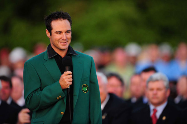 Trevor Immelman, who won in 2008, was playing that year in Asia when he landed in Japan. He carried the green jacket in a suit bag, but it wasn't long before some golf fans recognized him and realized what was in the bag. He said they began to cry.