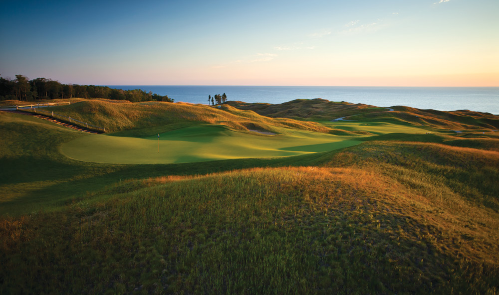 Arcadia Bluffs, Arcadia, Mich.: Plenty of fescue grass injects a links feel into this 1999 Rick Smith and Warren Henderson design overlooking Lake Michigan.