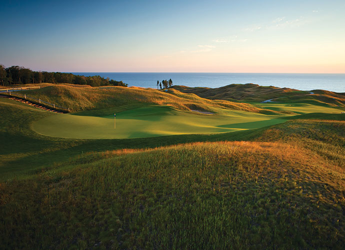 37. Arcadia Bluffs Golf Club Arcadia, Mich.; Rick Smith/Warren Henderson (1999) -- $75-$180, arcadiabluffs.com