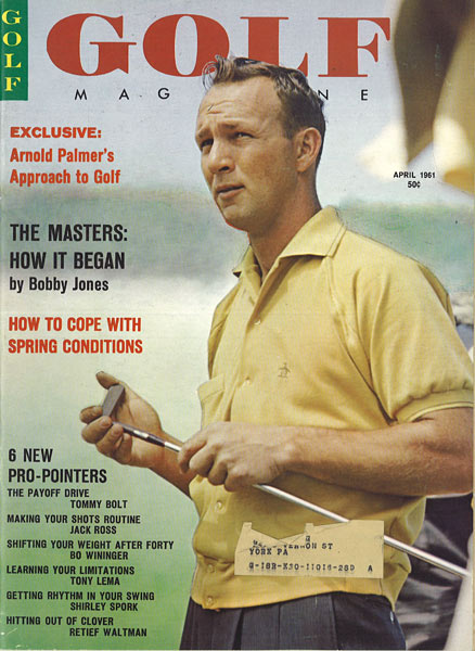 Arnold Palmer, GOLF Magazine, April 1961