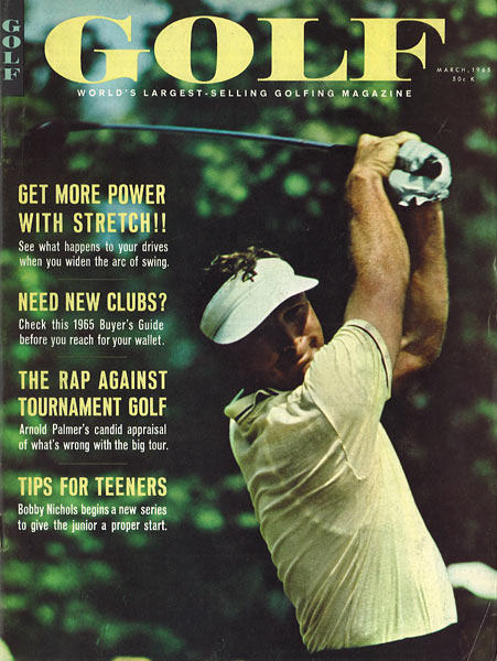 Arnold Palmer, GOLF Magazine, March 1965