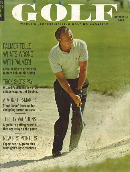 Arnold Palmer, GOLF Magazine, October 1965
