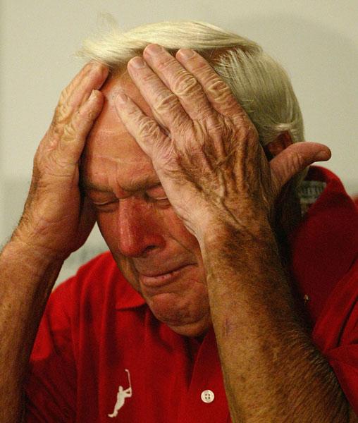 Arnold Palmer's farewell to Augusta.