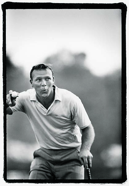 Arnold Palmer at Oakland Hills Country Club in Bloomfield Hills, Mich., in August 1964.