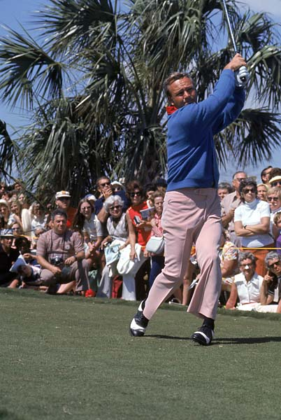 Arnold Palmer at the 1972 Jackie Gleason Classic.