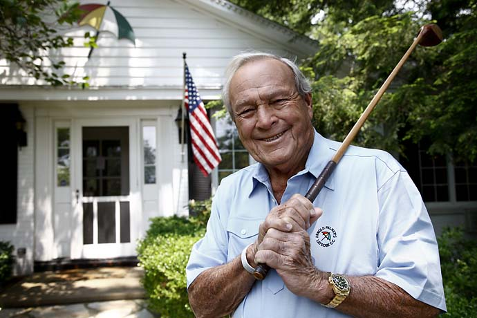 Arnold Palmer at his home in Latrobe, Pa., in June 2011.