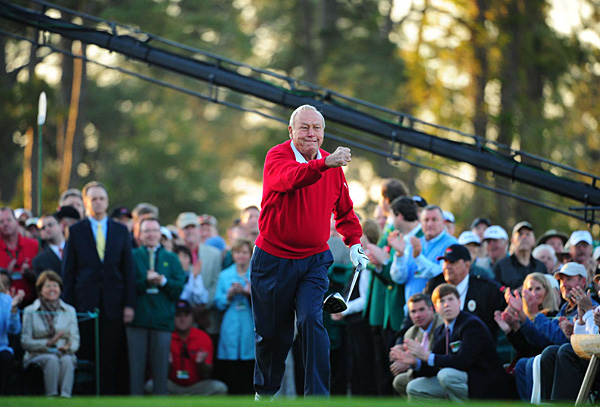 ICONS OF GOLF                       Phil Mickelson vs. Arnold Palmer                       The Pick: Arnold Palmer                       We asked Tiger to cast the tie-breaking vote.