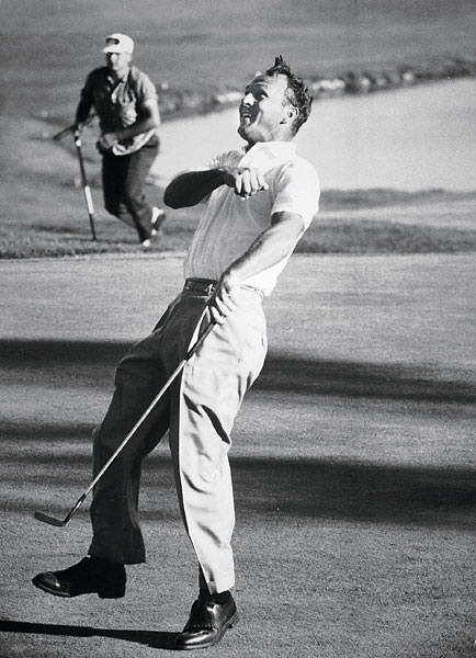 5. Arnold Palmer (September 10, 1929 - )                           62 PGA Tour wins
