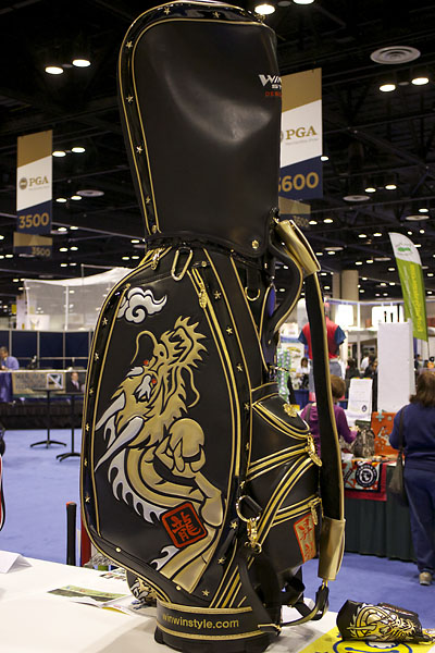 Win Win Style from Japan makes golf bags that are works of art. For more information, visit WinWinStyle.com.