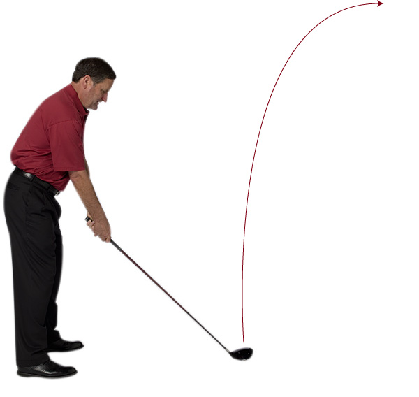 Attack Angle: How to Use It to Fix Every Bad Tee Shot                           Follow this guide to diagnose and fix your most common mis-hits, and make sure you're using the right driver                           By Bruce Patterson                           Top 100 Teacher                                                      HIGH SLICE                                                      WHY IT'S HAPPENING:                           1. Your clubface is open                           2. Your swing path is out-to-in                           3. Your angle of attack is too steep (greater than 50 degrees)                                                      HOW TO FIX IT                                                      1. Strengthen your grip (move both hands to the right).                           2. Close your stance to the target by dropping your right foot, hip and shoulder back.                           3. Try to swing the club more in-to-out. To ingrain this, try to imagine the golf ball divided into four quadrants and try to hit the lower inside quadrant.
