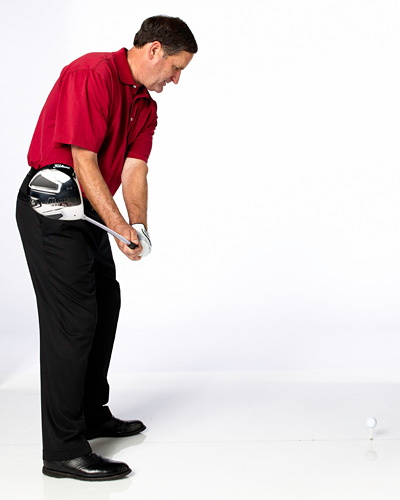 THE DRILL                             Make practice half-swings, checking to make sure that you swing the clubhead toe-up to toe-up. The most likely reason for your low hook is that you are swinging the clubhead back in a closed position.                           CLUBFITTING TIP                            Increase driver loft, possibly to 12° or higher, and use a heavier, stiffer shaft. Additional loft means you can get under the ball for enough spin and a higher trajectory. A stiff flex shaft (with stiff tip, low torque) can make misses more predictable by neutralizing the hook. Try a flatter lie, too. A softer ball is easier to compress. This, in turn, could reduce sidespin.