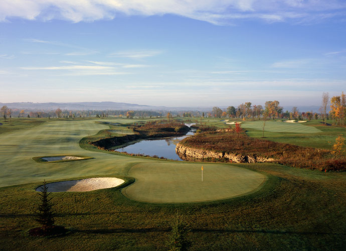 7. Atunyote at Turning Stone Resort Casino; turningstone.com; $200-$225                           Open only to guests of Turning Stone, this pristine, 10-year-old Tom Fazio parkland creation is maintained like a PGA Tour course -- which it once was. Dustin Johnson won his first PGA Tour title here in 2008, Matt Kuchar took the title in 2009 and Tiger Woods shows up annually to compete in the Notah Begay III Foundation Challenge.