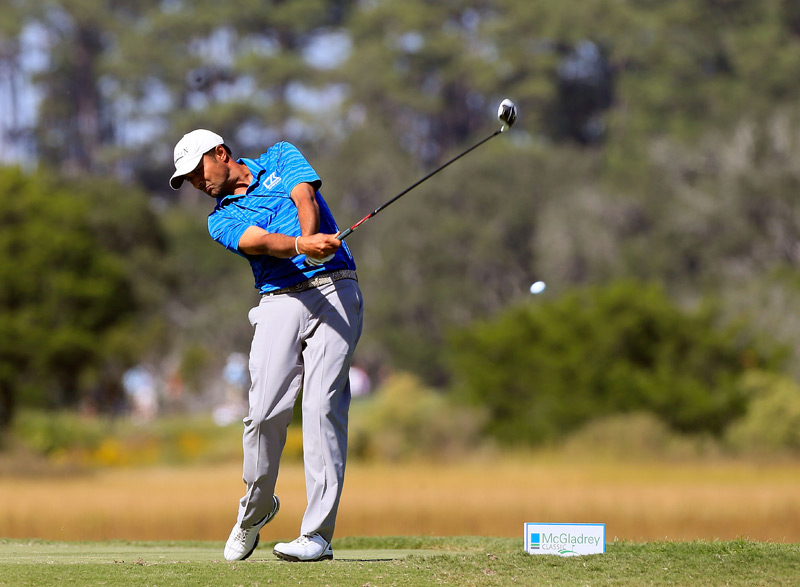 Arjun Atwal followed up a second-round 63 with a one-under 69.