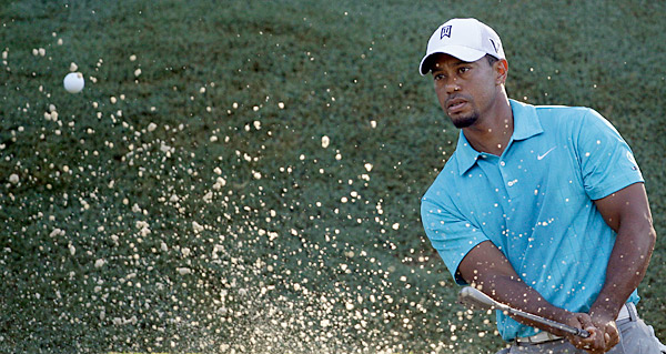 Woods has won the PGA Championship four times: 1999, 2000, 2006 and 2007.