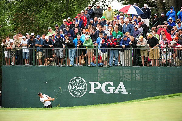 This was Harrington's second-straight major championship win. He finished at three under par.