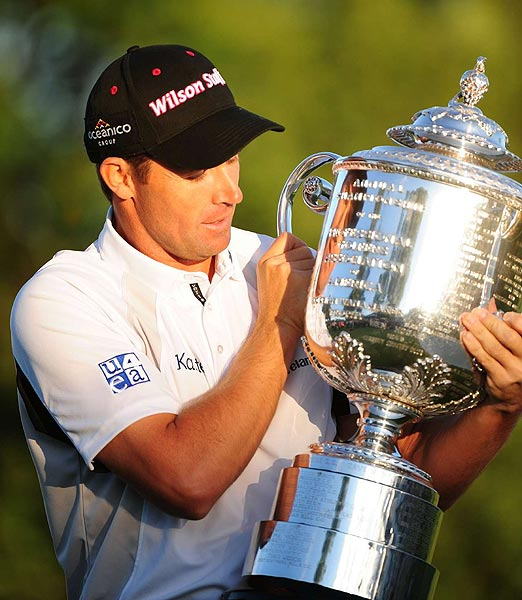 Final Round of the PGA Championship                           Ireland's Padraig Harrington became the first European to win the PGA Championship since 1930.