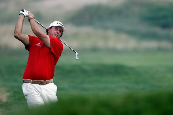 tied for sixth at the 2004 PGA at Whistling Straits.