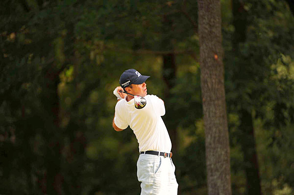 Matt Kuchar matched his first-round score of 71.