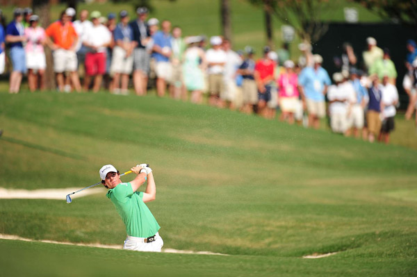 McIlroy suffered a wrist injury on Thursday but gutted it out and finished the rest of the championship.