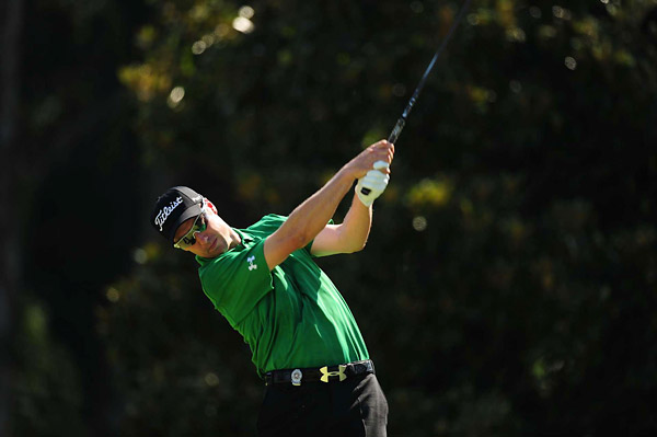 Ross Fisher improved his overall score by one shot with a 69.