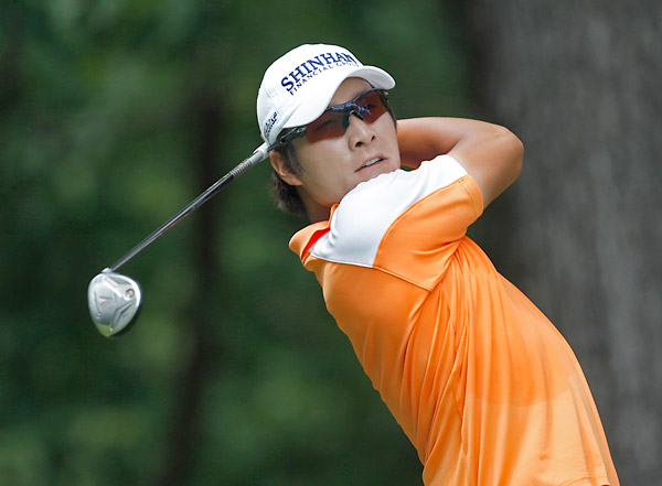 Kyung-tae Kim shot a final-round 66 to move up the leaderboard but still fall short of the win.