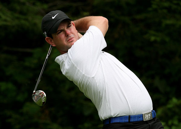 Round 1 of the Barclays, the first event of the FedEx Cup playoffs                                                          Rory Sabbatini's bogey-free eight-under round gave him the lead in the first round of the FedEx Cup Playoffs.