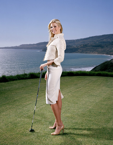"No. 1 Heiress Apparent: Ivanka Trump                           ""I haven't developed a feel for chipping. I sort of cross my fingers and hope.""                                                      Ivanka Trump, 29, is the executive vice president of development and acquisitions for the Trump Organization."