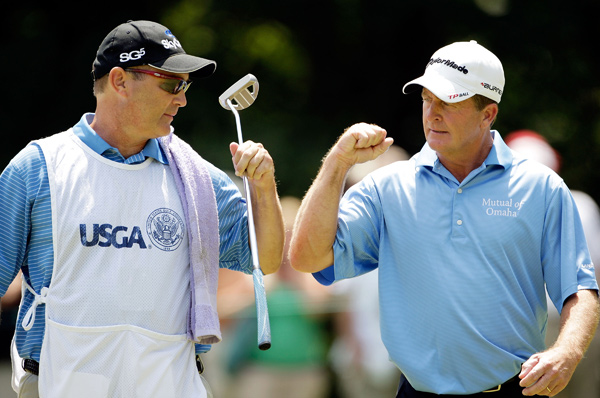 on Sunday by six shots. He also set a tournament record by finishing at 20-under par.                                                      2009 U.S. Senior Open