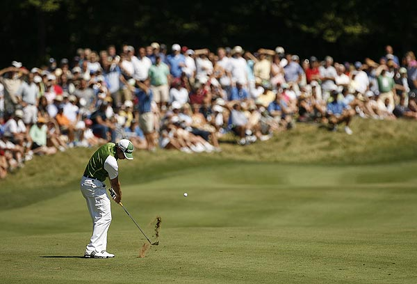 Sergio Garcia shot a 3-under 68 on Sunday.