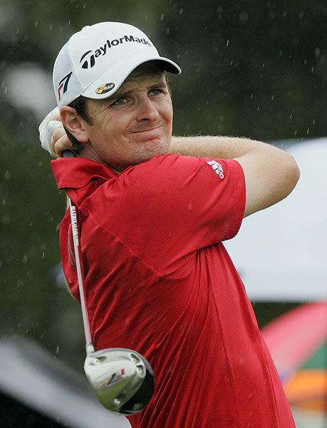 Justin Rose finished T2 with Rory Sabbatini at even par.