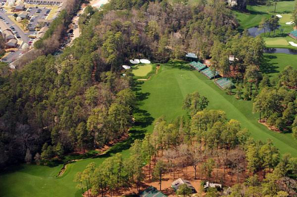 Augusta National                       Azalea, the par-5, 510-yard No. 13 at Augusta National.