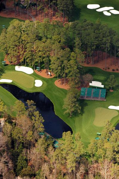 Redbud, the par-3, 170-yard No. 16 at Augusta National.