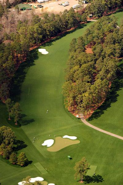 Pink Dogwood, the par-5, 575-yard No. 2 at Augusta National.